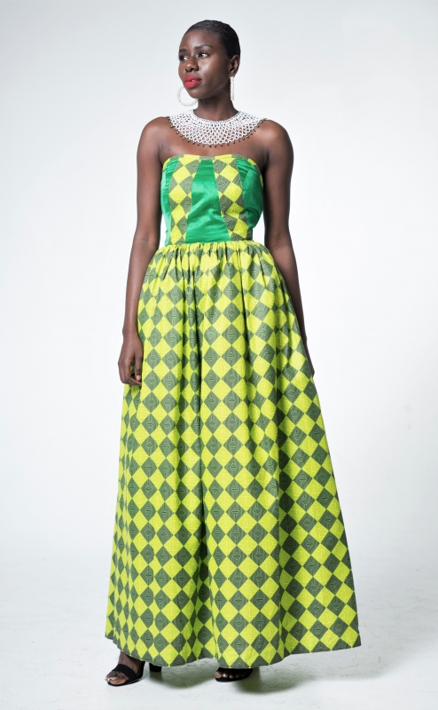 Egbe Gown (Dark Green)