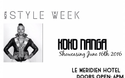 Koko Nanga to showcase at NCFA Style Week.